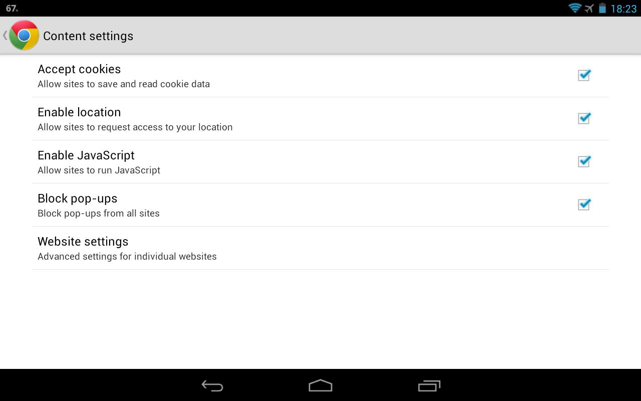 Cookies How To Allow Javascript Nexus 7 är Den F Rsta Enheten Som Levereras  Med Googles How To Install Firefox On A Mac: