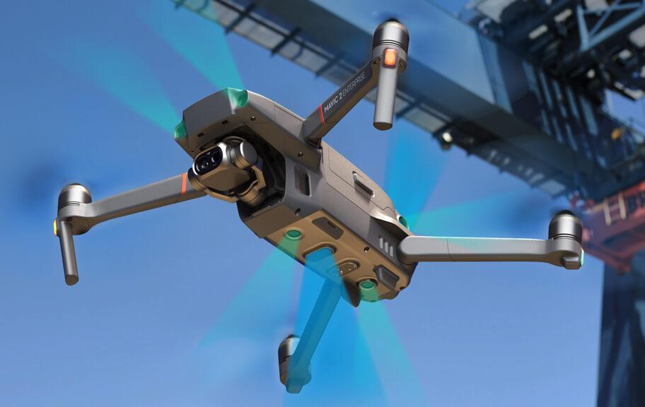 Mavic 2 Enterprise Omni directional sensors - advanced sensor system