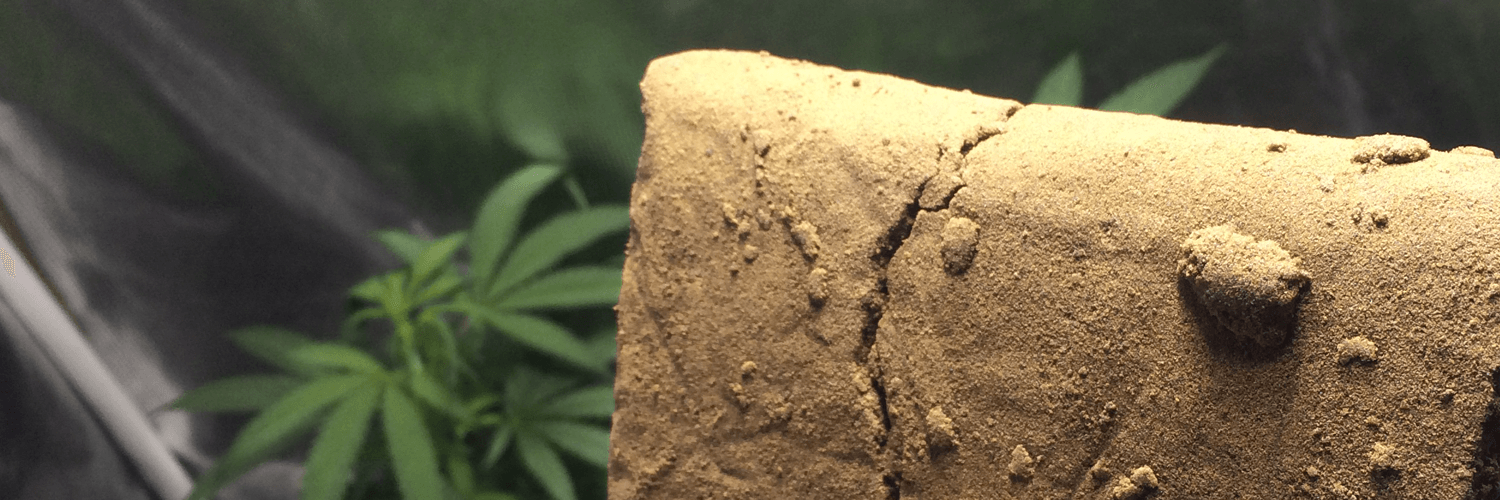 Hash with cannabis