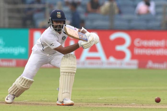 Ajinkya Rahane scores a century vs South Africa at Ranchi