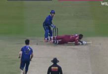 Andre Russell in T10 League ground