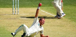 Neil wagner catch in first test Australia vs New Zealand