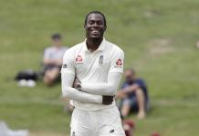 jofra archer test