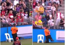security guard injured big bash league