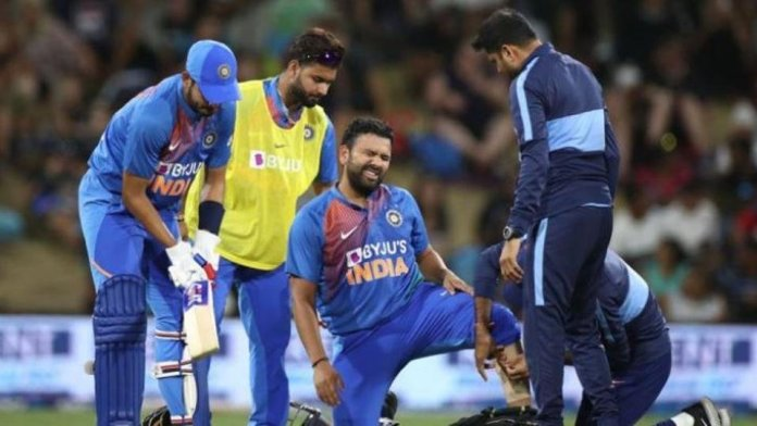 Rohit sharma injured vs New Zealand, New Zealand vs India