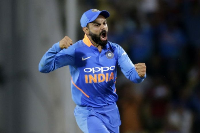 Virat Kohli angry celebration