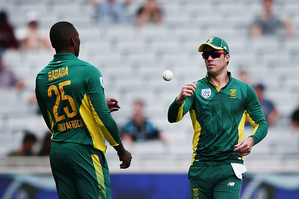 Kagiso Rabada and AB De Villiers, 3t cricket league postponed