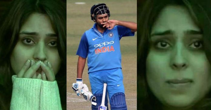 Ritika and Rohit Sharma 208 Mohali