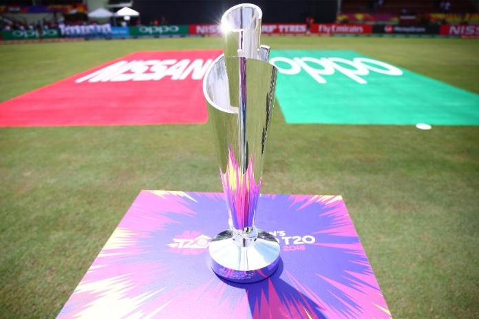 T20 World Cup 2020 Trophy, Richard Colbeck