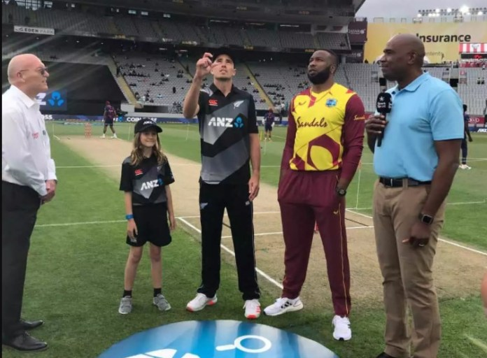 New Zealand vs West Indies first T20I