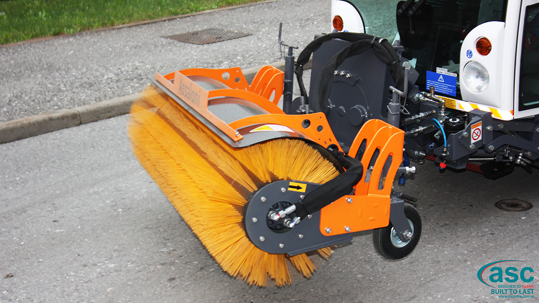 ASC DULEVO 850 sweeper brush 2