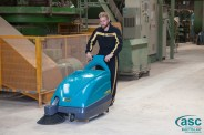 nav ASC Eureka M1 sweeper with man 8