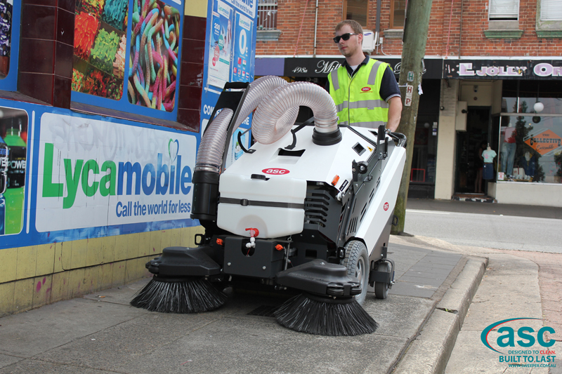 ASC 125 Sweeper with man 8