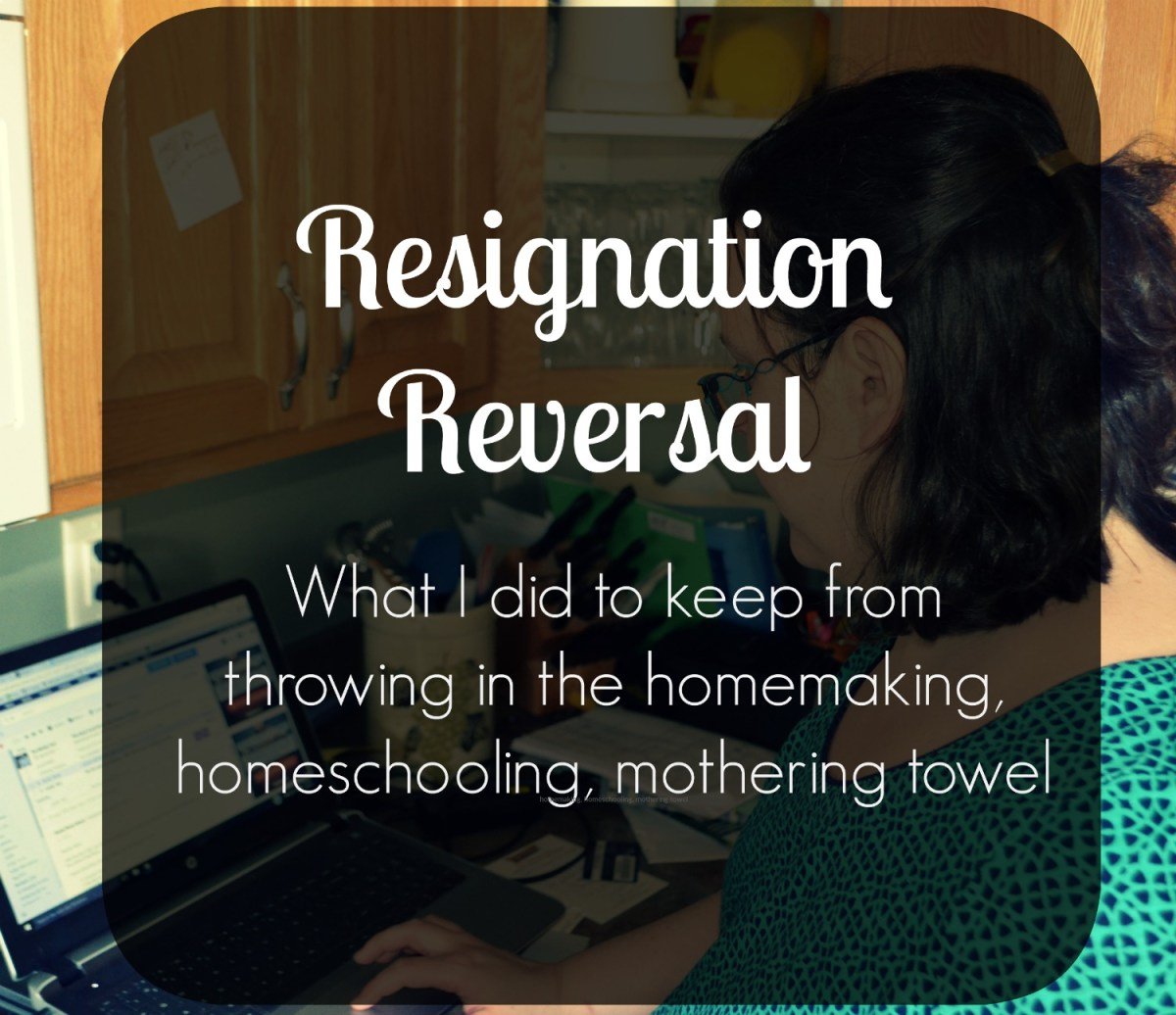 A Resignation Reversal