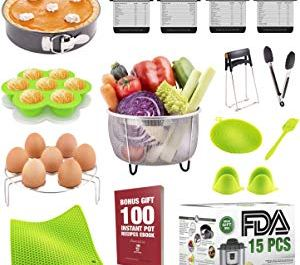 Full Pressure Cooker Accessories Set Fits Instant Pot 5 Giveaway