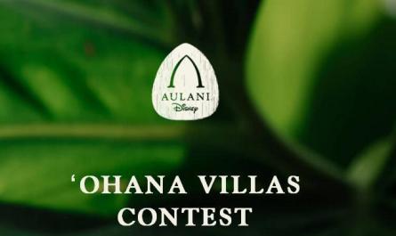 Disney Aulani Ohana Villas Contest