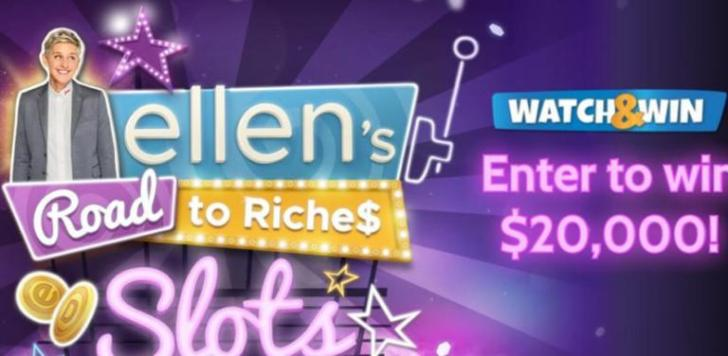 Ellen Road To Riches Sweepstakes