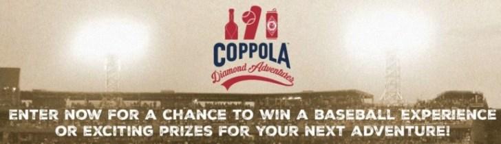 Francis Ford Coppola Diamond Adventures Sweepstakes