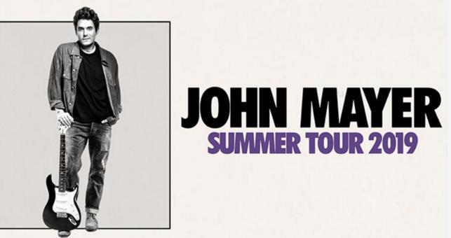 John Mayer Ticket Giveaway