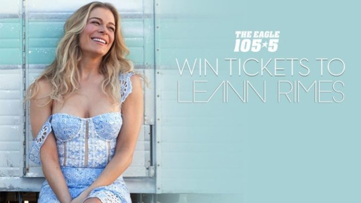 The Eagle LeAnn Rimes Tickets Giveaway