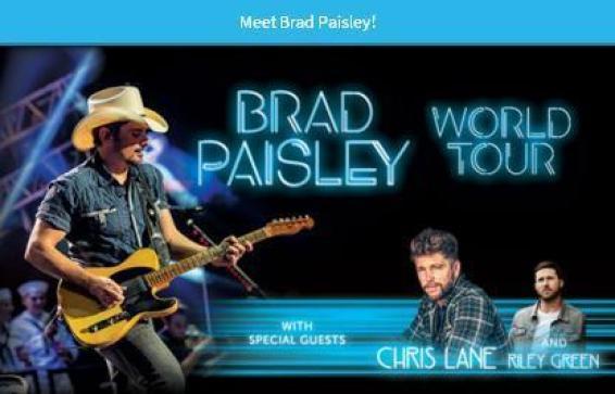 WGAR Meet Brad Paisley Sweepstakes