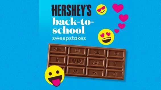 Hershey's Back To School Sweepstakes