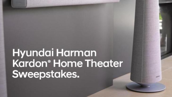 Hyundai Palisade Harman Kardon Sweepstakes – Win Speaker Package