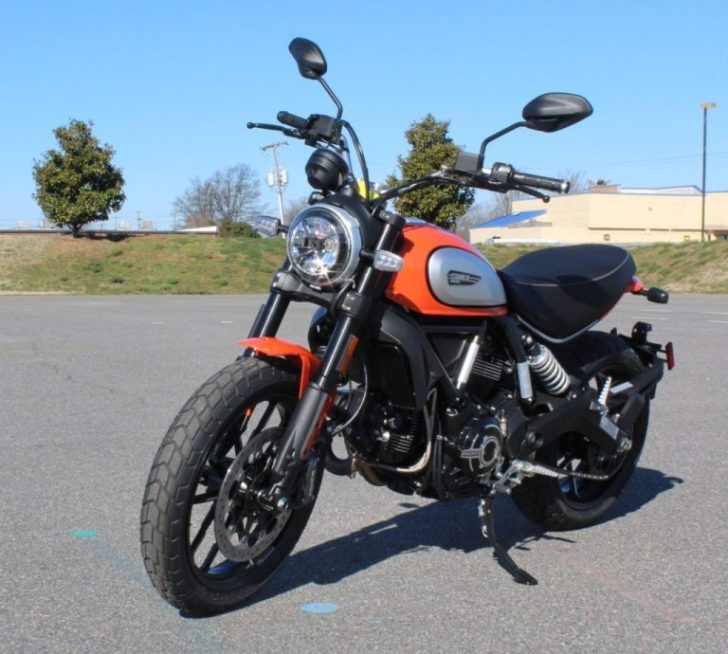 Motorcycle Law Group Ducati Scrambler Giveaway
