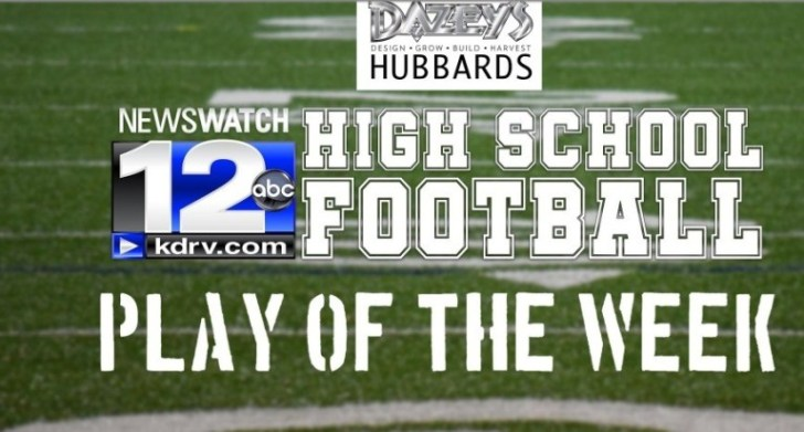 NewsWatch 12s High School Football Play Of The Week Sweepstakes