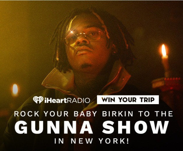 Rock Your Baby Birkin to the Gunna Show in New York Sweepstakes