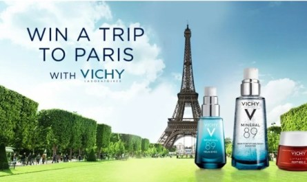 Vichy Paris Sweepstakes