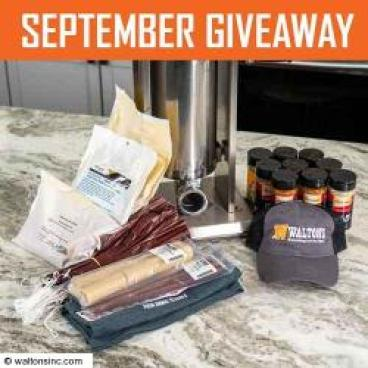 Waltons Monthly Giveaway