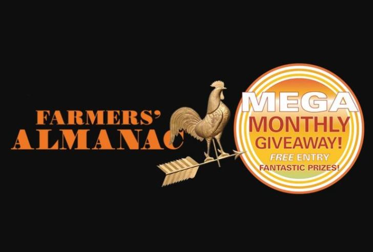 Farmers Almanac Mega Monthly Giveaway