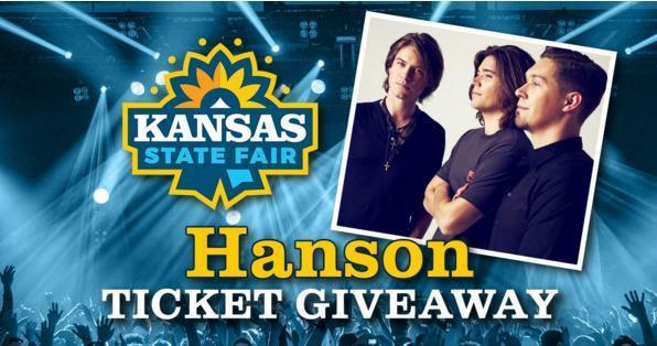 Kansas State Fair Hanson Ticket Giveaway