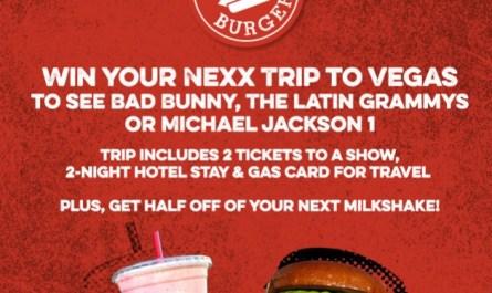 Nexx Trip To Las Vegas Online Sweepstakes