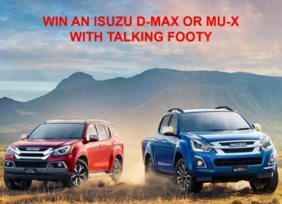 Isuzu UTE Talking Footy Competition