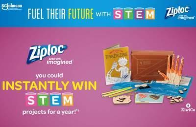 Ziploc Back to School Instant Win Game