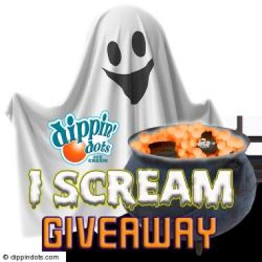 Dippin Dots I Scream Giveaway
