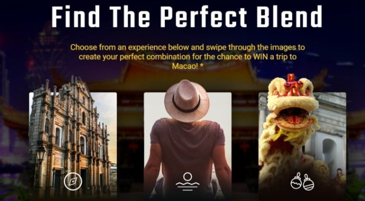 Expedia Macao The Perfect Blend Sweepstakes
