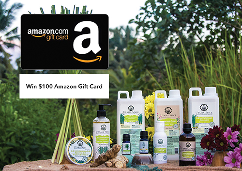 Win $100 Amazon Gift Card From Utama Spice