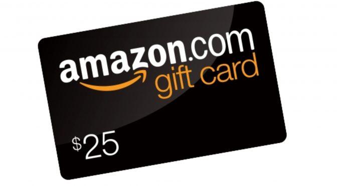 Happy Holidays! Free $50 Amazon Gift Card