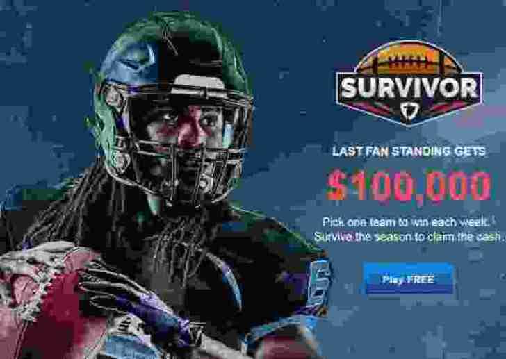 FanDuel NFL Survivor $100K Contest