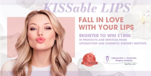 KISSable Lips From Liposuction And Cosmetic Surgery Institute Wrinkle Fairy Sweepstakes