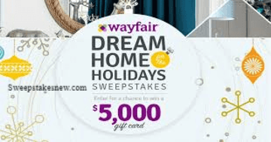 Wayfairs Dream Home For The Holidays Sweepstakes