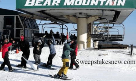 Big Bear Mountain Resort Winter Guest Survey Sweepstakes