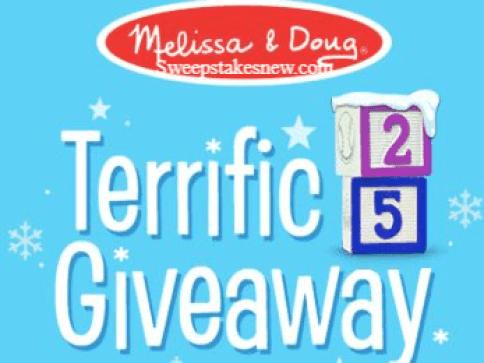 Melissa and Doug Terrific 25 Giveaway
