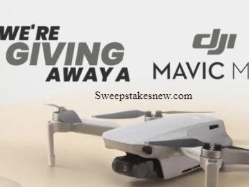 Beach Camera DJI Mavic Mini Drone Giveaway