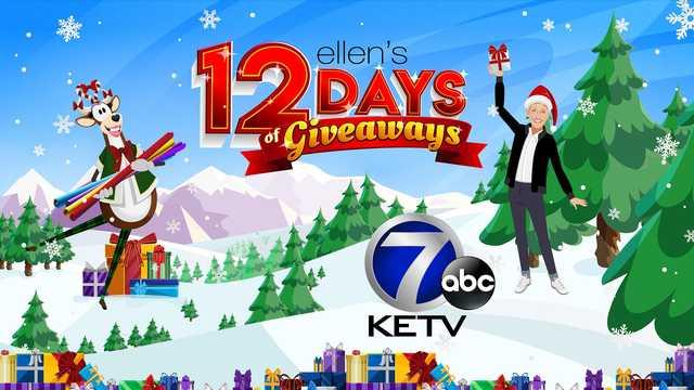 KETV Ellen 12 Days of Giveaway Contest