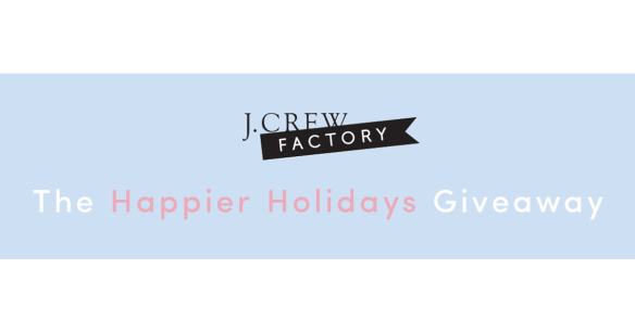 J.Crew Factory Holiday Giveaway