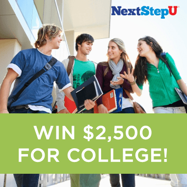 Nextstepu Win Free College Tuition Sweepstakes